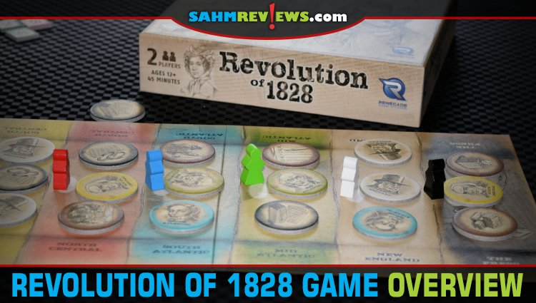 Revolution of 1828 2-Player Game Overview