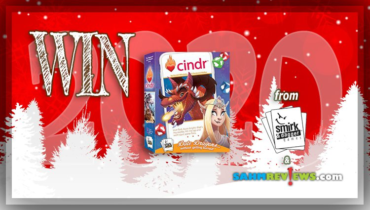 Holiday Giveaways 2020 – Cindr Game Prize Package by Smirk & Dagger