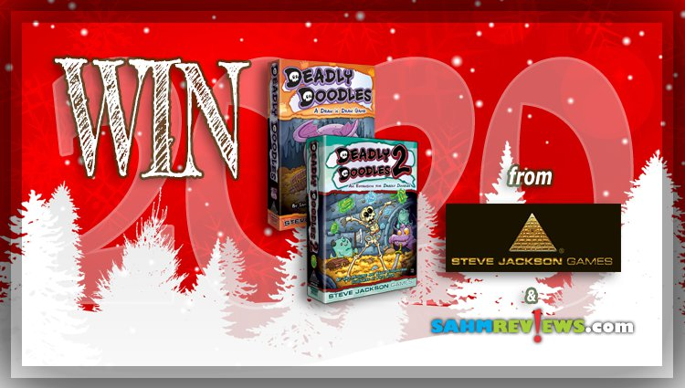 Holiday Giveaways 2020 – Deadly Doodles 1 & 2 by Steve Jackson Games