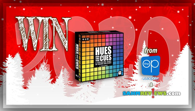 Holiday Giveaways 2020 – Hues and Cues Game by The Op