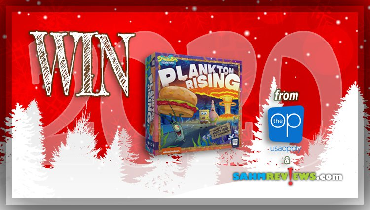 Holiday Giveaways 2020 – SpongeBob SquarePants: Plankton Rising by The Op
