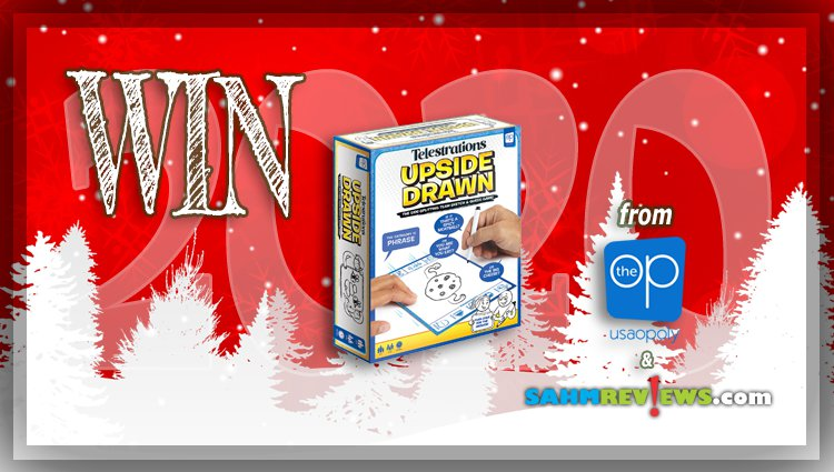 Holiday Giveaways 2020 – Telestrations: Upside Drawn Game by The Op