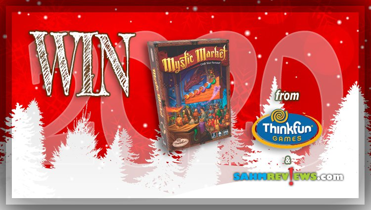 Holiday Giveaways 2020 – Mystic Market Game by ThinkFun