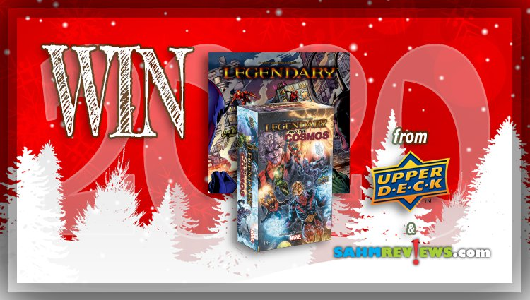 Holiday Giveaways 2020 – Marvel Legendary & Into the Cosmos Expansion Game by Upper Deck