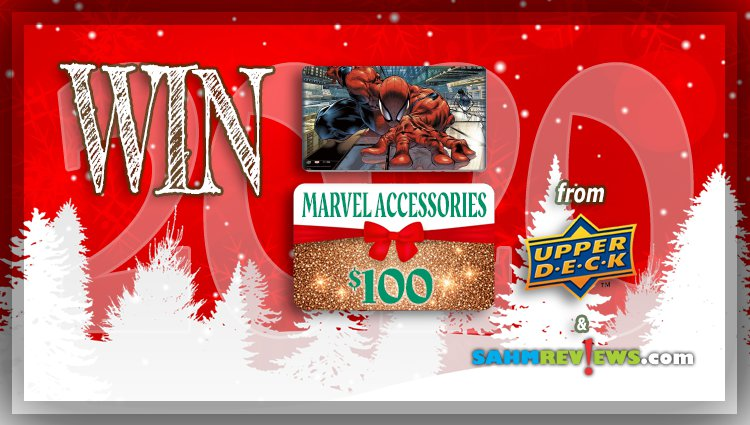 Holiday Giveaways 2020 – Marvel Game Accessories $100 Prize Package by Upper Deck