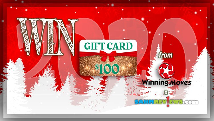 Holiday Giveaways 2020 – $100 Store Credit to Winning Moves Games