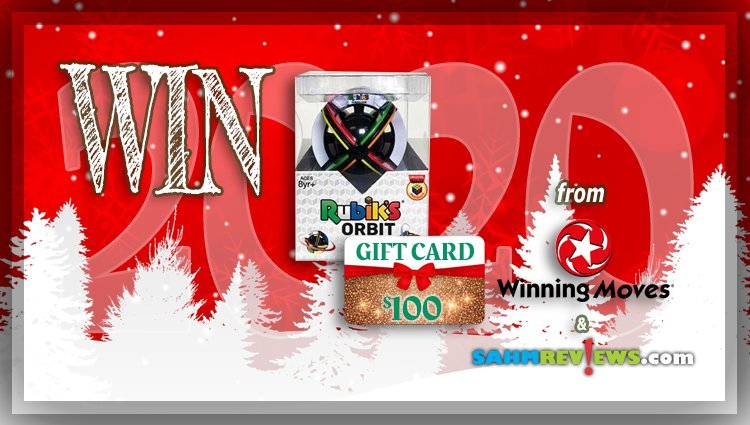 Holiday Giveaways 2020 – Rubik's Orbit & $100 Store Credit to Winning Moves Games