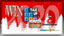Holiday Giveaways 2020 – Tile Up Game & $100 Store Credit to Winning Moves Games