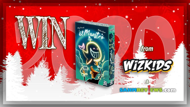 Holiday Giveaways 2020 – El Maestro Game by WizKids