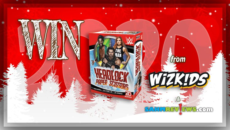 Holiday Giveaways 2020 – WWE: Headlock, Paper, Scissors Game by WizKids