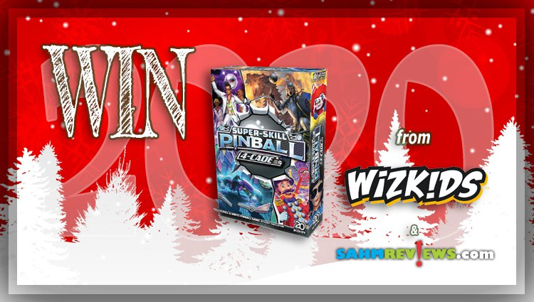 Holiday Giveaways 2020 – Super-Skill Pinball: 4-Cade Game by WizKids