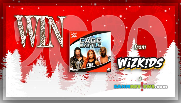 Holiday Giveaways 2020 – WWE Cage Battle Game by WizKids
