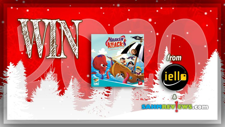 Holiday Giveaways 2020 – Kraken Attack Game by iello / Loki