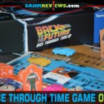 Biff is at it again! Work together to see if you can fix the space-time continuum in Back to the Future: Dice Through Time from Ravensburger. - SahmReviews.com