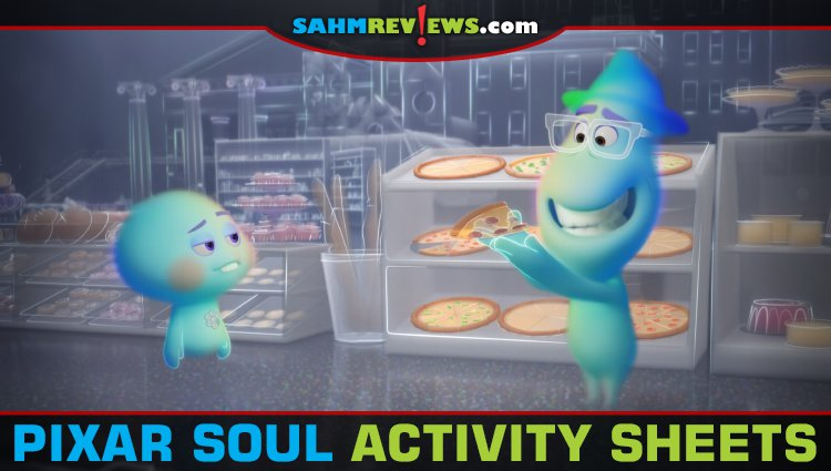 Free Printable Disney Pixar Soul Activity Sheets
