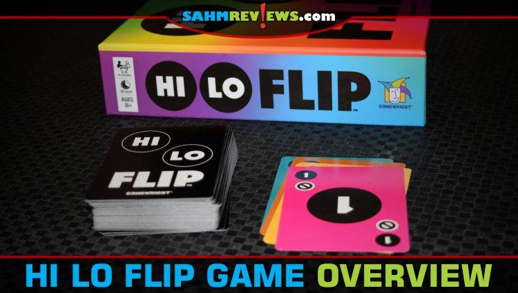 Hi Lo Flip Card Game Overview