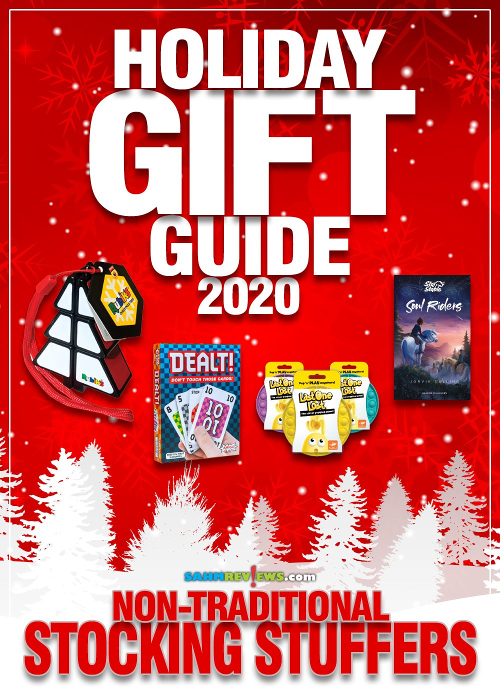Stocking stuffers don't have to be candy and sweets. Think outside the box with these inexpensive game, book and toy ideas in our Holiday Gift Guide! - SahmReviews.com
