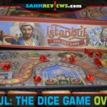 We've been on a hot streak with dice games lately. This time we're playing AEG's Istanbul: The Dice Game! Read more about this euro-ish title! - SahmReviews.com