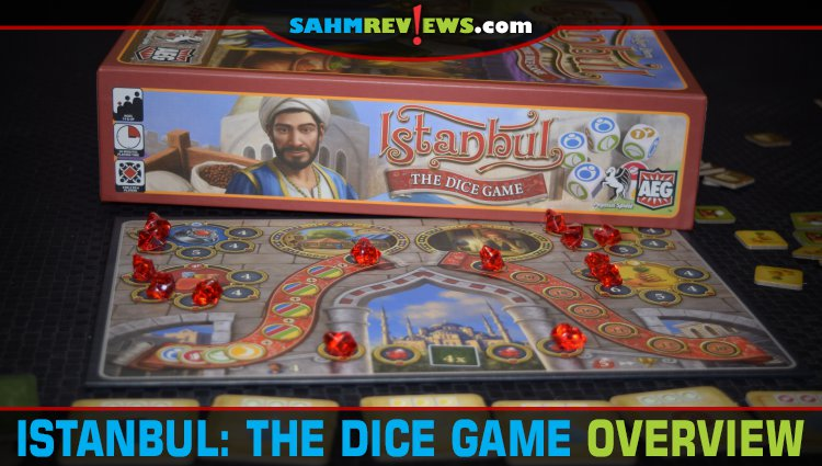 Istanbul: The Dice Game Overview