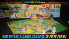 Meeple Land Tile-Laying Game Overview