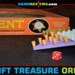 "We've all played Chinese Checkers at some point. I'll bet you've never played a version where the board rotates every turn! This one is called ""Orient""! - SahmReviews.com"
