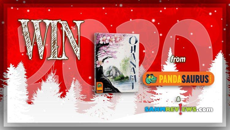 Holiday Giveaways 2020 – Ohanami Game by Pandasaurus Games