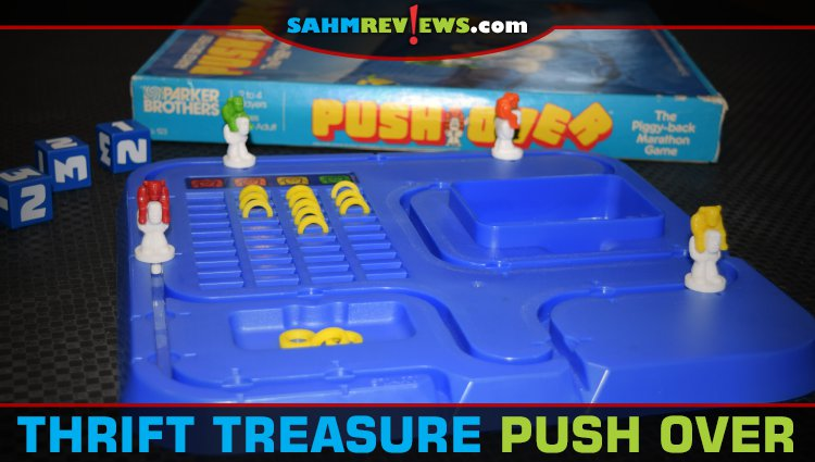Thrift Treasure: Push Over Board Game