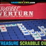 Scrabble Overturn is another in a long line of Scrabble variations published over the years. This one uses colored cylinders for the letters! - SahmReviews.com