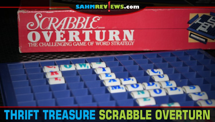 Thrift Treasure: Scrabble Overturn Word Game