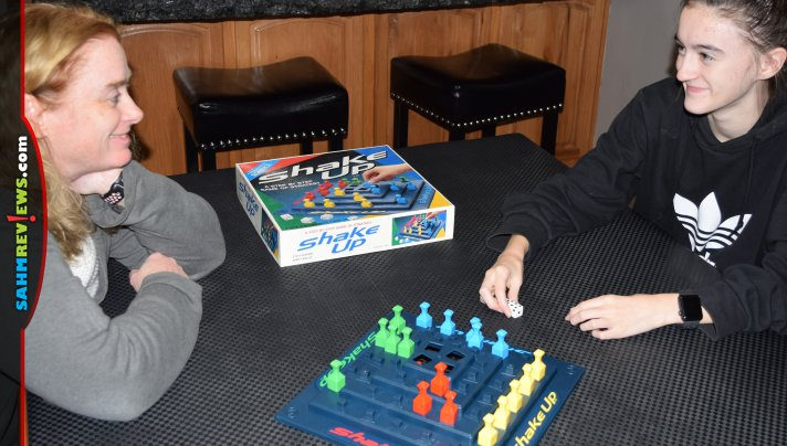 We thought Shake Up was going to be an earthquake-themed game. Instead, the only shaking is of the dice! Check out this 90's board game we found at thrift! - SahmReviews.com