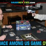Gather around the game table and try to repair the ship before the menace sabotages it in The Menace Among Us from Smirk & Dagger Games. - SahmReviews.com