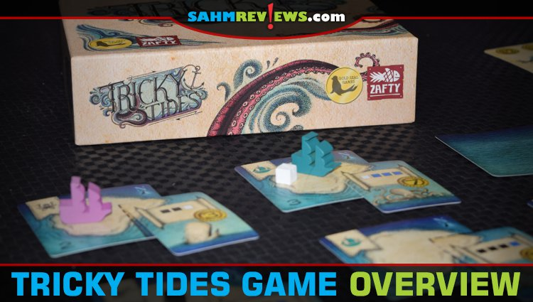 Tricky Tides Board Game Overview