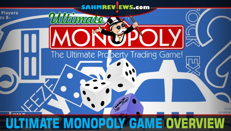 Ultimate Monopoly Board Game Overview