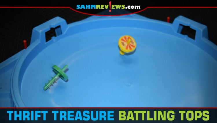 Thrift Treasure: Battling Tops Game