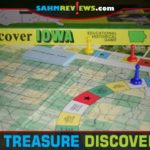 This makes two weeks in a row we couldn't resist an educational game at thrift. Since Discover Iowa was about our state, we couldn't pass it up! - SahmReviews.com
