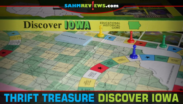 Thrift Treasure: Discover Iowa Game
