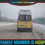 From what to pack to who to contact, here are tips for what to do when a family member is hospitalized. - SahmReviews.com
