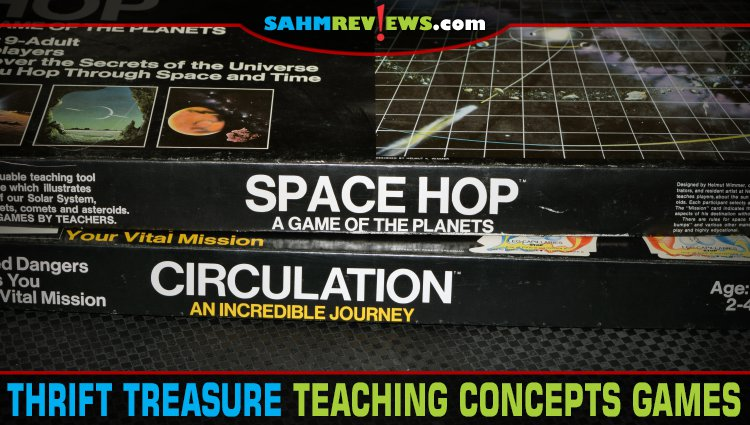 Thrift Treasure: Teaching Concepts Games