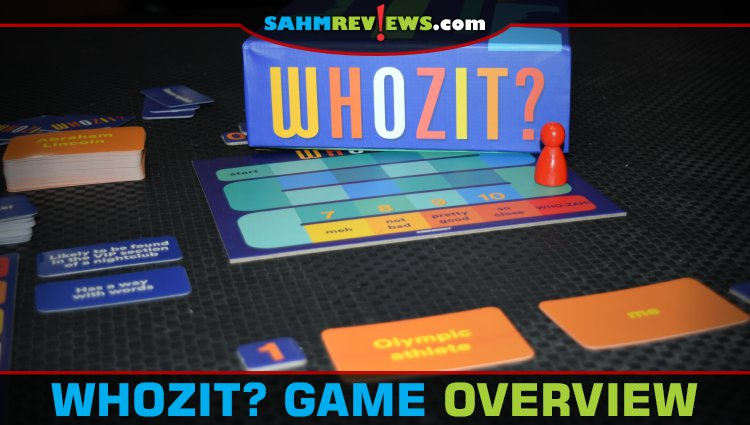 Whozit? Cooperative Guessing Game Overview