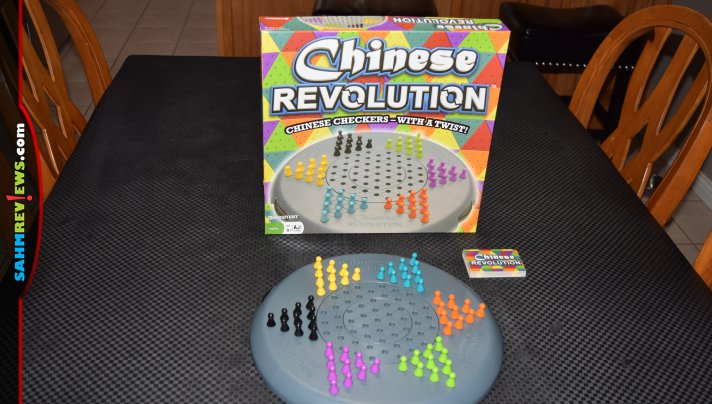 It was a bit of déjà vu when we found this Chinese Revolution board game at Goodwill. We thought we already owned it. Find out how it differs from Orient! - SahmReviews.com