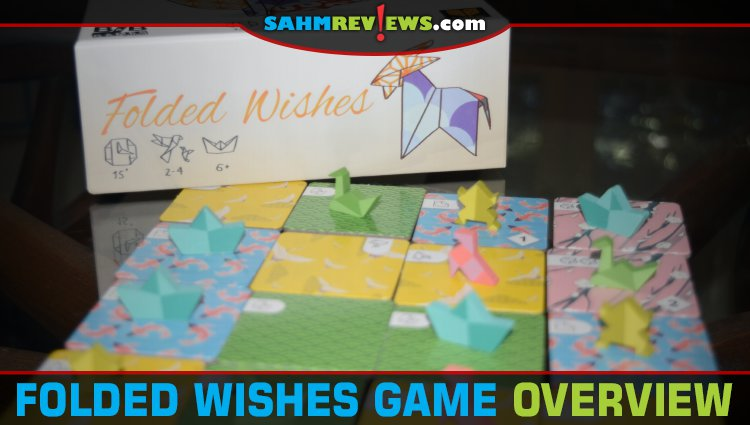 Folded Wishes Abstract Strategy Game Overview