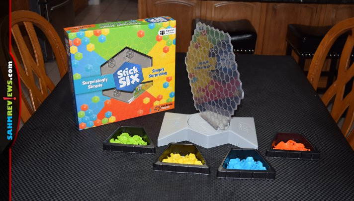 New materials eventually make their way into board games once someone figures out how to utilize them. Stick Six is the first we've found that uses silcone! - SahmReviews.com