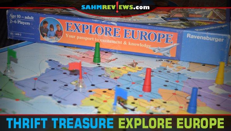 Thrift Treasure: Explore Europe Board Game