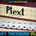Plext is a different type of word game. You're not limited to the letters available. You can add other letters wherever you need to complete a word! - SahmReviews.com