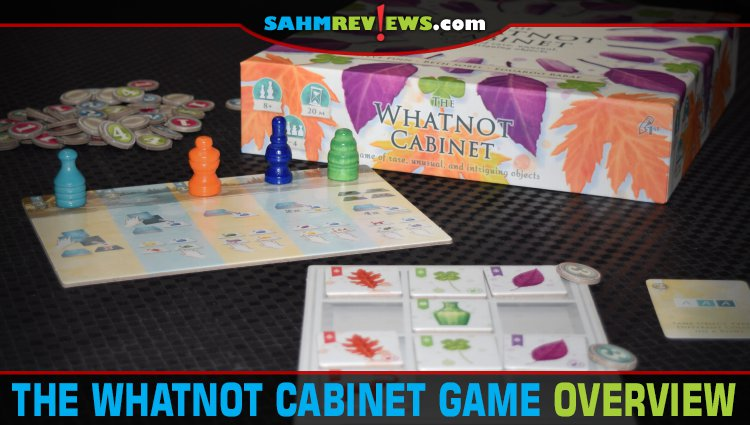 The Whatnot Cabinet Set Collection Game Overview