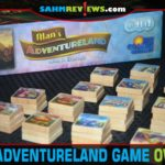Put your design skills to work as part of the team building a new amusement park in Alan's Adventureland board game from Rio Grande Games. - SahmReviews.com