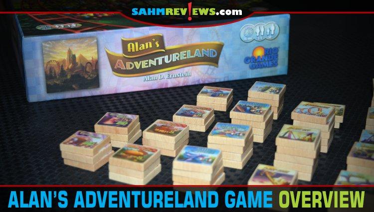 Alan's Adventureland Board Game Overview
