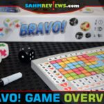 Available for one to six players, Bravo roll and write game is a quick-playing reimplementation of Encore dice game from Stronghold Games. - SahmReviews.com