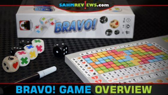 Bravo! Roll and Write Game Overview