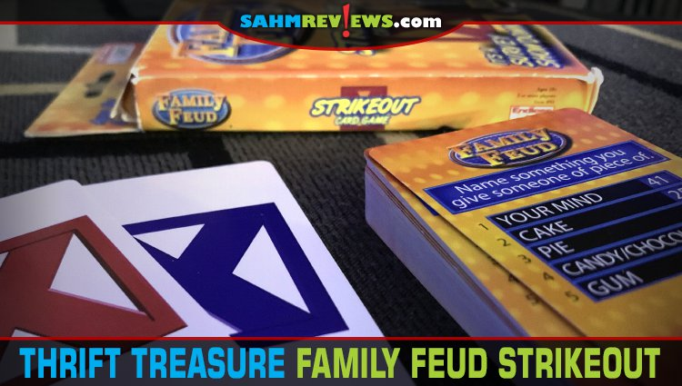 Thrift Treasure: Family Feud Strikeout Card Game